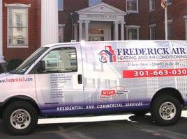 frederick air truck